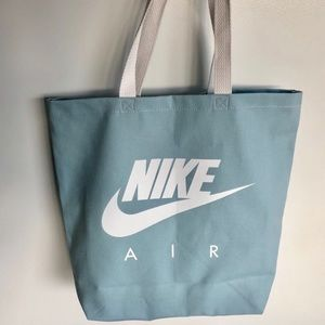 Nike Bags - NIKE baby blue large canvas tote